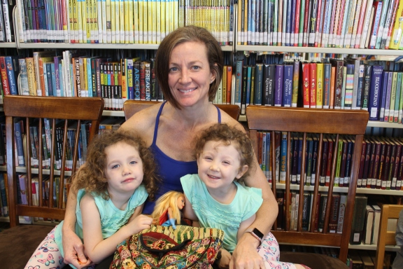 Lisa, Penelope and Cassidy Watkins