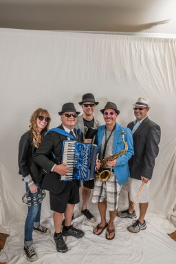 Alpine Village Band/Dogensteins as photographed for Texas Polka News on August 6, 2017, i near Garland, Texas.